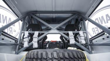 Land Rover Defender Challenge spare wheel