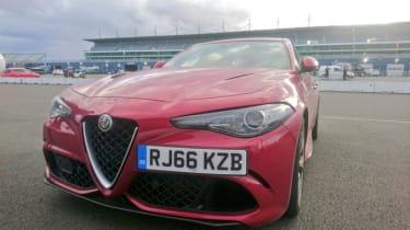 Rockingham track day 2 - Alfa Romeo