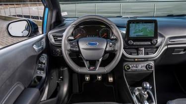 2018 Ford Fiesta ST –interior