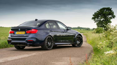 2018 model-year BMW M3 Competition Pack - Rear