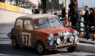 Mini Cooper at the Monte Carlo Rally: 50th anniversary