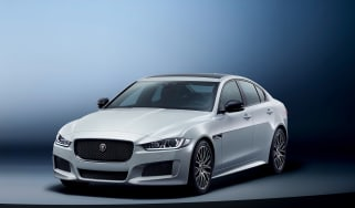 Jaguar XE Landmark - front quarter