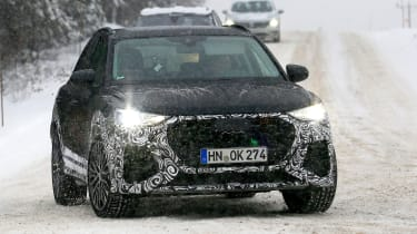 Audi RS Q3 spotted front