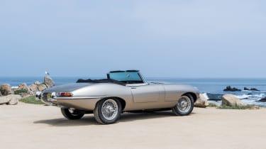 Jaguar e-type Zero drive - rear quarter