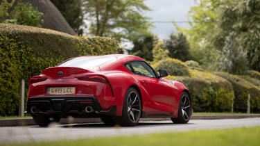 Toyota GR Supra review - rear