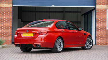 BMW M5 F10 – rear quarter