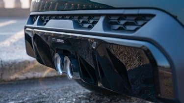 2021 Mini JCW revealed - rear bumper