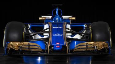 Sauber F1 car front