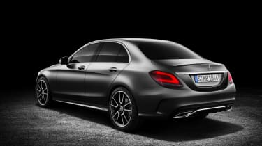 Mercedes-Benz C-class – AMG Line - rear quarter
