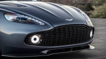 Aston Martin Zagato Volante - front grille