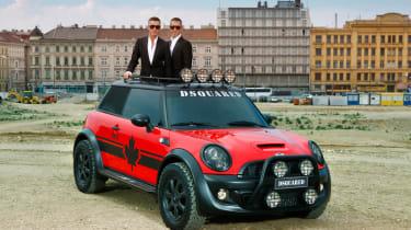 Mini Cooper S Red Plugger concept