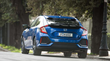 Honda Civic 1.6 i-DTEC – rear
