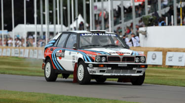 Lancia Delta HF Integrale - Goodwood Festival of Speed 2017