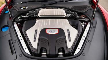 Porsche Panamera Turbo –engine