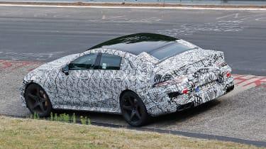 Mercedes-AMG GT Concept rear spy