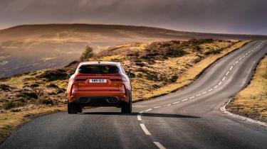 Jaguar F Pace SVR 2021 review - road