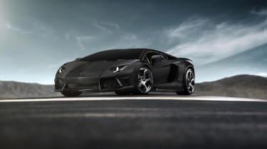 Mansory tuned Aventador revealed