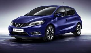 Nissan Pulsar blue