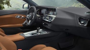 BMW Z4 M40i silver - cabin