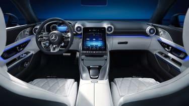 Mercedes SL Roadster interior