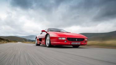 Ferrari F355 icon shoot - front tracking