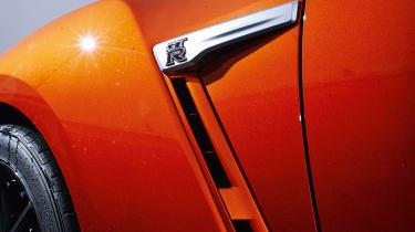 Nissan GT-R - detail