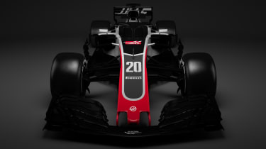 HAAS F1 car - front