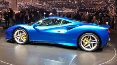 Ferrari F8 live - rear quarter