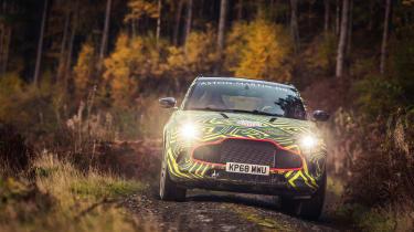 Aston Martin DBX prototype - front