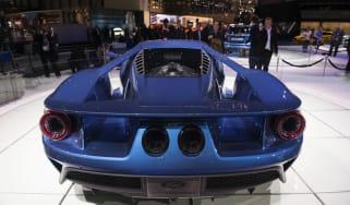 2016 Ford GT - rear