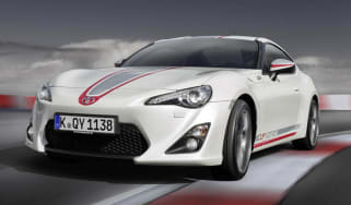 Toyota GT86 Cup Edition on track front