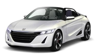 Honda S660 sports car concept