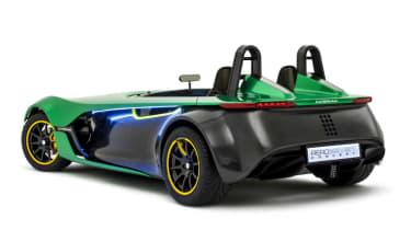 Caterham AeroSeven Concept sports car