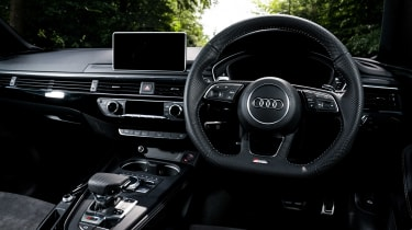 Audi RS5 Sportback review - interior