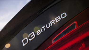 Alpina D3 Biturbo badge