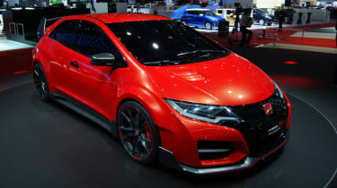 Honda Civic Type-R turbo at the 2014 Geneva motor show