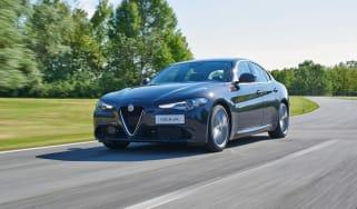 Alfa Romeo Giulia - front driving shot 2