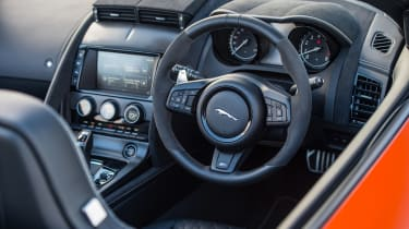 Jaguar F-Type SVR Convertible - interior