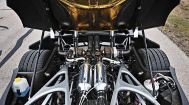 Hennessey Venom GT engine bay