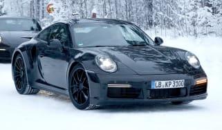 Porsche 911 Turbo spy