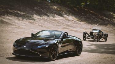 Aston Martin 'A3' Vantage Roadster – front quarter