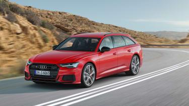 Audi S6 Avant - front quarter