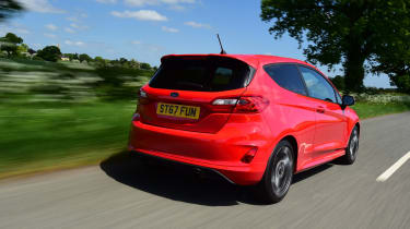 Ford Fiesta ST-Line UK - tail