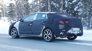 Hyundai i30 N Fastback – rear quarter