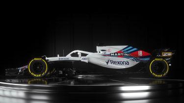 williams F1 car 2018 front