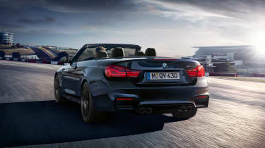BMW M4 Convertible Edition - rear quarter