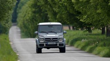 Mercedes-Benz G63 AMG driving