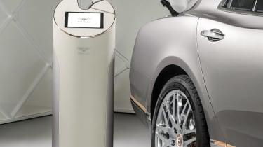 Bentley Mulsanne Hybrid concept unveiled