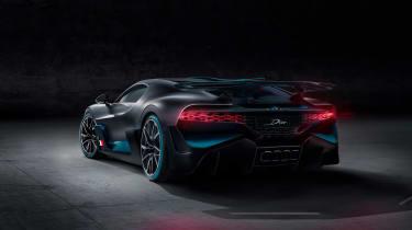 Bugatti Divo - rear quarter