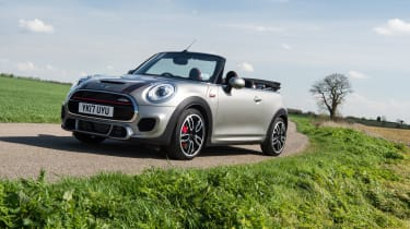 Mini John Cooper Works Convertible - Front